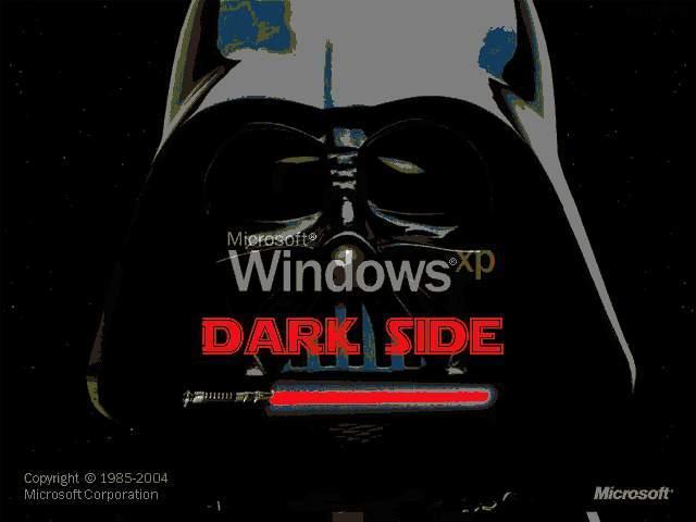 Windows Darth Side