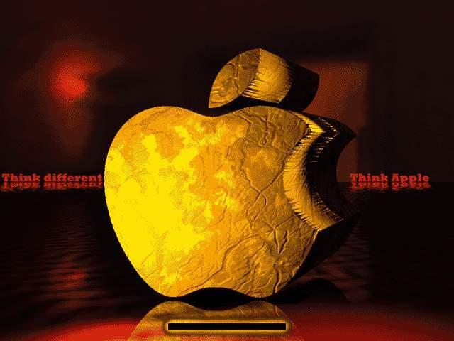 Golden Apple-Think different Boot