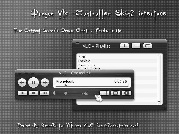 Dragon 1.0 for VLC Controller