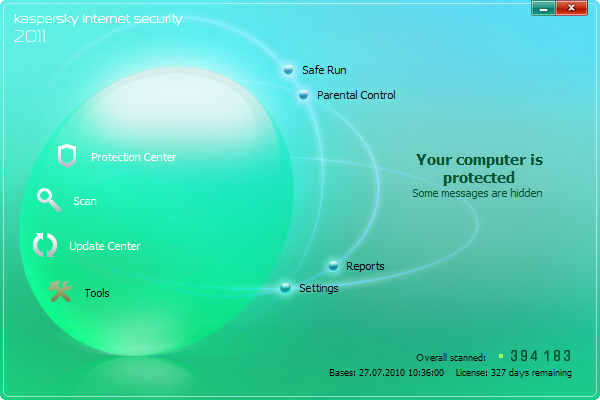 Kaspersky Internet Security 2011 Skin 2(Atom)