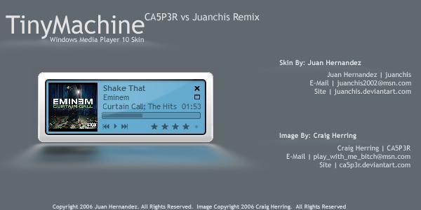 Tiny Machine CA5P3 Rvs Janchis