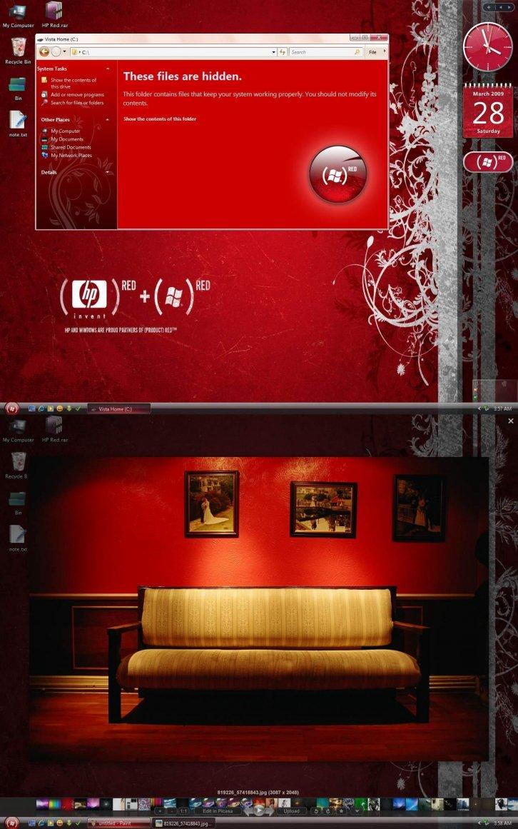 Vista HP Red