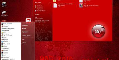 My RED Theme Update