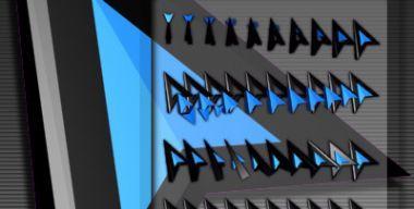 X-BLACK 2 BLUE