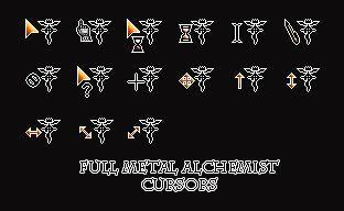 full metal alchemist cursors