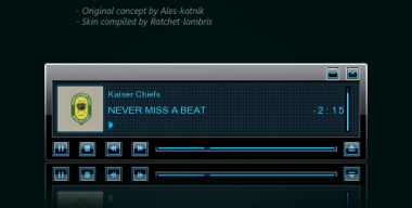 Winamp Black Concept - Coded