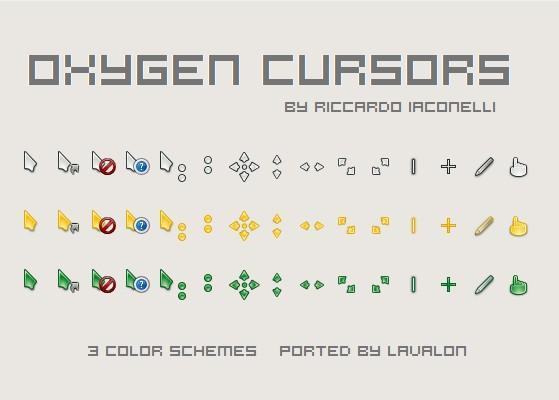 Oxygen Cursors