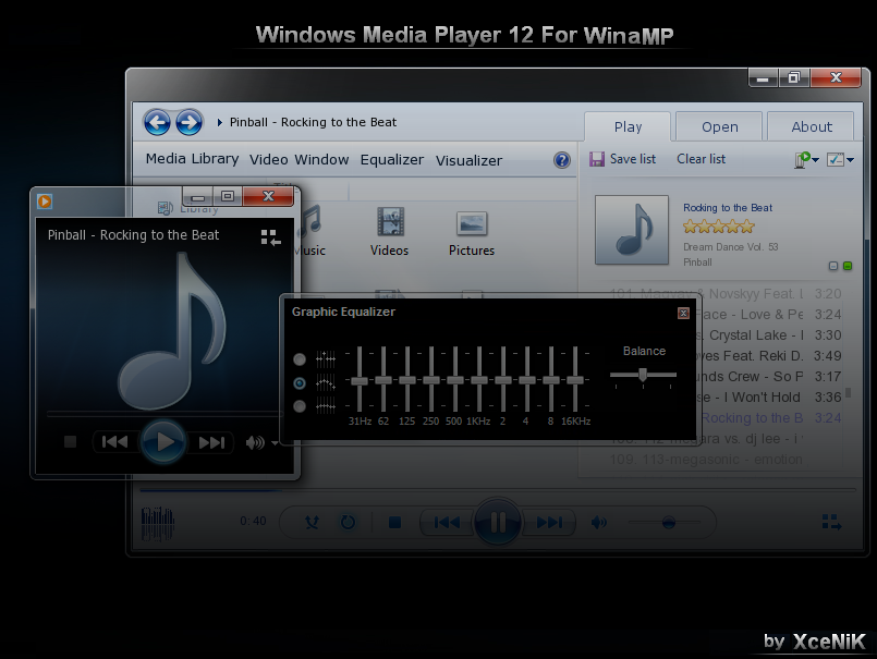 Alienware windows media player skin for win xp/vista/7 2012 youtube.
