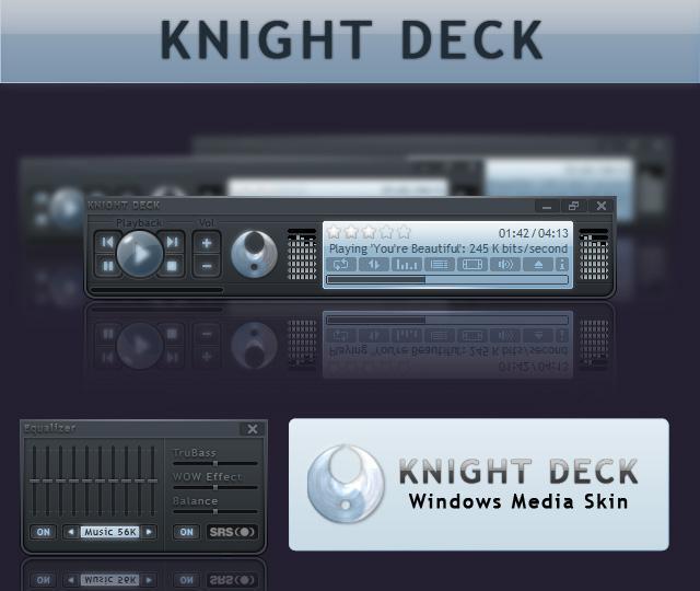 Knight Deck Media skin