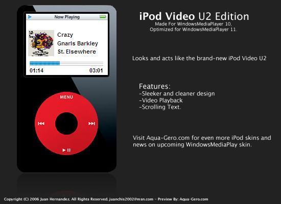 iPod Video - U2 Edition