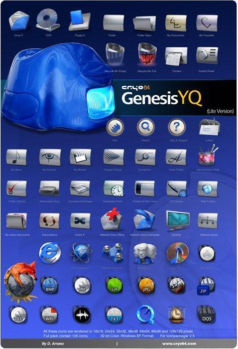 Cryo64 Genesis YQ Lite