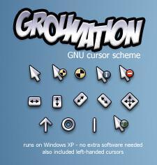 moshi's Grounation Cursors