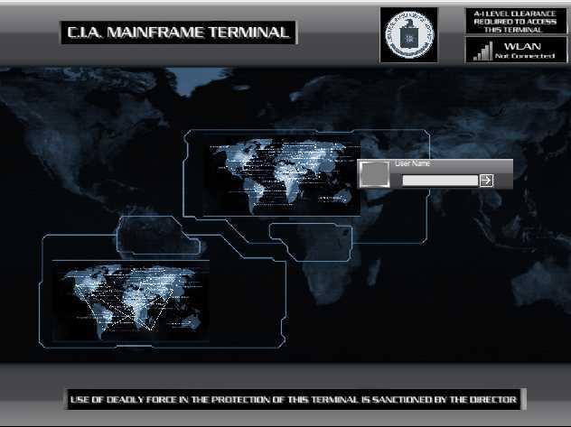 C.I.A. Terminal Logon 3-Pack