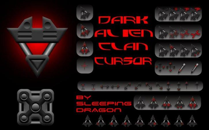 Dark Alien Clan Cursor