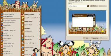 Dorf von Asterix
