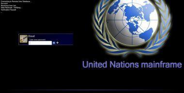 United Nations Logon+Boot+Wall