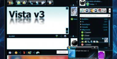 Vista Skin v3 RELOADED o.m.t ICQ 6