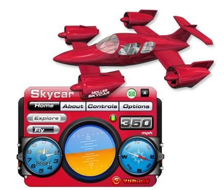 Skycar 3D Desktop Toy