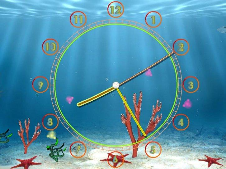 Aquarium Clock ScreenSaver v.2.3