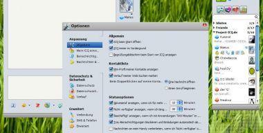 Mac OS X Leopard ICQ 6