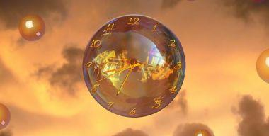 Magic Bubble Clock ScreenSaver v.2.3