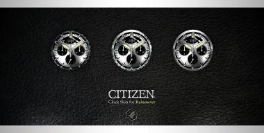 Citizen -Clock skin