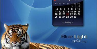 BL Calendar Blue