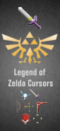 Legend of Zelda Cursors