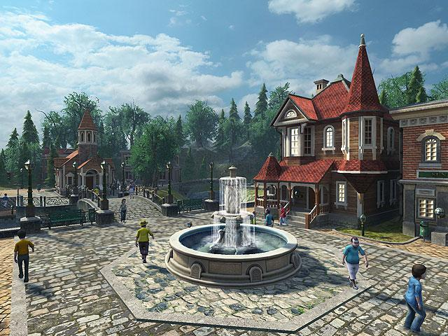 Sun Village 3D Screensaver 1.0