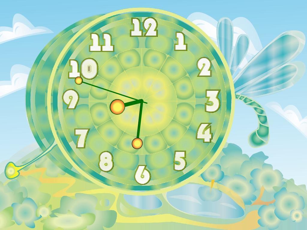 картинки на рабочий стол анимация часы работать там стала