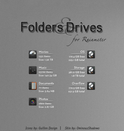 Folders and Drives