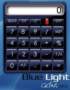 BL Calculator Blue App