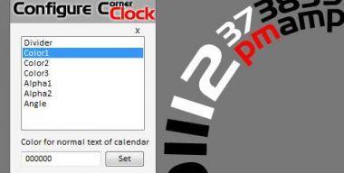 Corner Clock v1.0