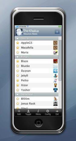 Miranda iPhone