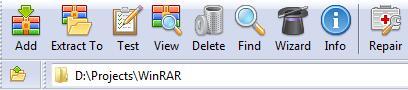 WinRAR FatCow theme version
