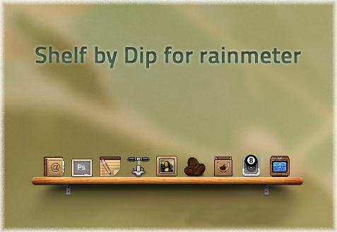 Shelf by dip