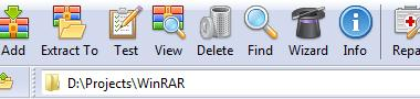 WinRAR FatCow theme version