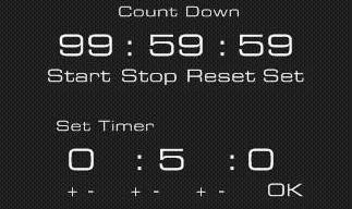 Countdown For Rainmeter