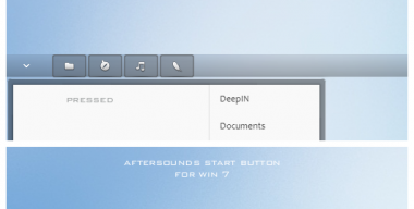 Aftersounds start button Win 7
