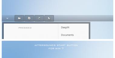 Aftersounds start button Win 7