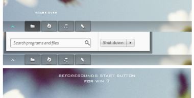 Beforesounds start button Win7