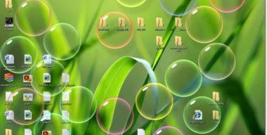 Bubbles screensaver Windows Vista
