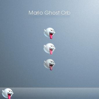Mario Ghost Orb