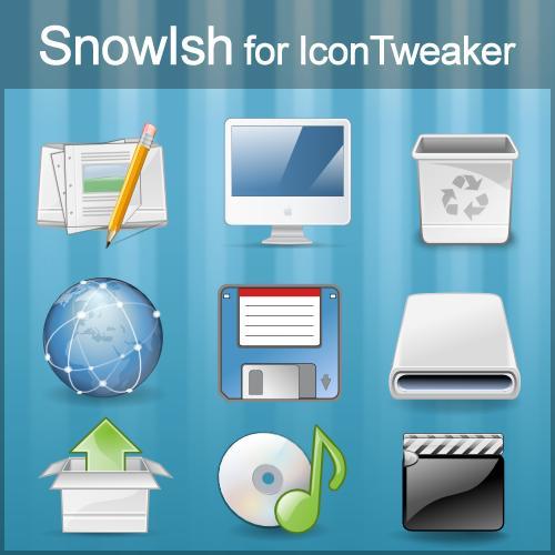 Snowlsh for Icon Tweaker