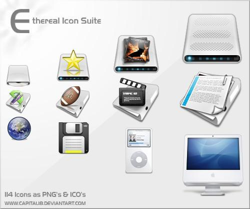 Ethereal Icon Suite