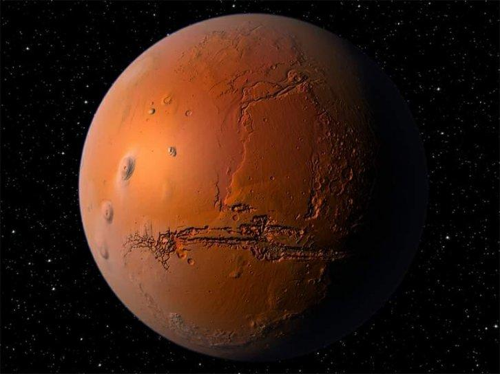 Mars Screensaver