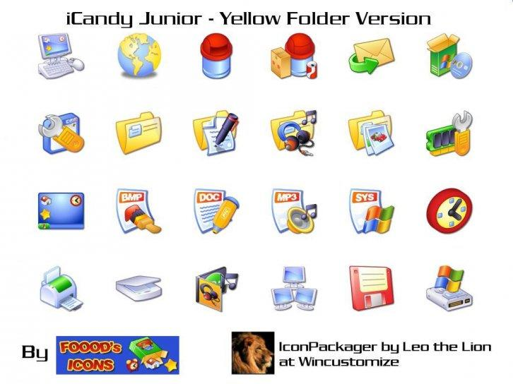 iCandy Junior Yellow