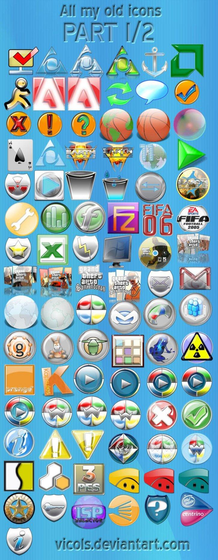 All_my_old_icons_part_I