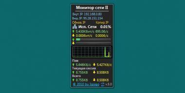 Монитор сети II