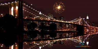 Салют над мостом